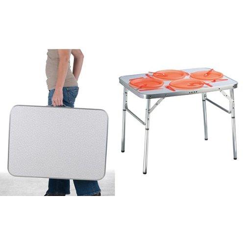 Aluminium Klapptisch.Aluminium Klapptisch Campingtisch 75x55cm Gartentisch