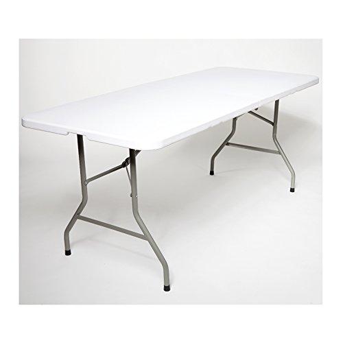 Klapptisch 180cm Buffettisch Gartentisch Campingtisch Partytisch 182cm 183 Weiß