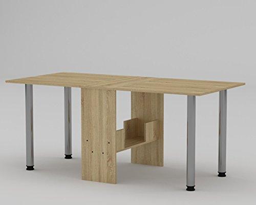 Klappbarer Tisch Holzoptik U2013 Raumwunder Für Ferienwohnung