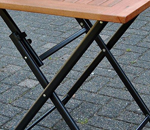 klapptisch holz 70x70 terrassentisch eukalyptus balkontisch gartentisch tisch klapptisch. Black Bedroom Furniture Sets. Home Design Ideas