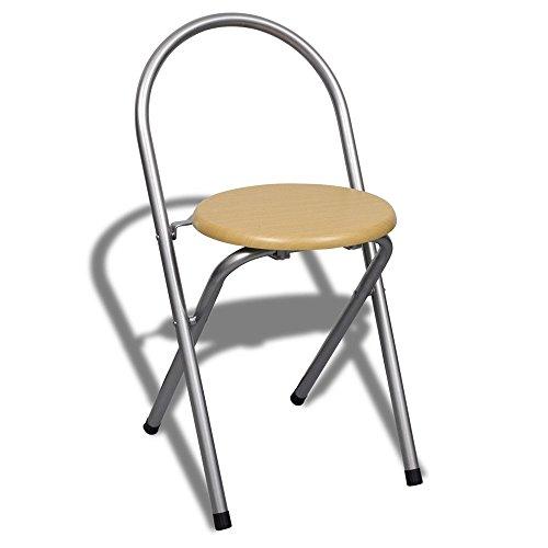 ᐅ Meloo Küchentisch + 2 Stühle Theke klappbar Klapptisch-kaufen.de