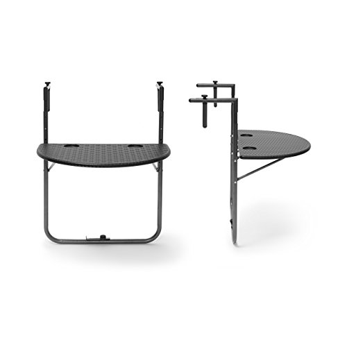 relaxdays balkonh ngetisch bastian klappbar hbt 84 x 60 x 63 cm klapptisch. Black Bedroom Furniture Sets. Home Design Ideas