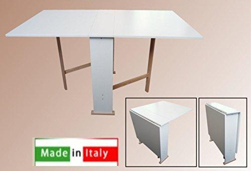susanna klappbarer tisch wei klapptisch. Black Bedroom Furniture Sets. Home Design Ideas