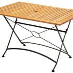 ᐅ Wohnwohl Gartentisch Holztisch Klapptisch Gastro Tisch